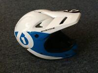 661 Rage Full Face Carbon MTB Helmet Size M