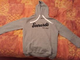 Everards Branded Grey Hoodie/Sweatshirt (New) - Size XL [Beer, Brewery, Ale]