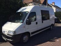 Motor home - Campervan converted Citroen Relay
