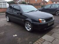 ford fiesta zetec s replica,lowered,scorpion exhaust,drives well,£400,no offers