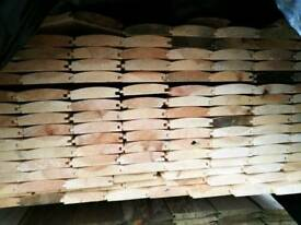 Untreated Log Lap (20mm x 100mm) - Various Lengths