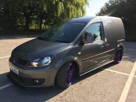 volkswagen caddy van 1.6tdi 2014 highline