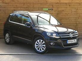 Volkswagen Tiguan 2.0 TDi BlueMotion Tech Match 4 Motion 4WD 5dr VERY LOW MILEAGE (black) 2014
