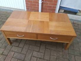 Solid wood coffee table £25 ono