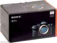 NEW - Sony cameras a7r ii and a7s ii - 1850£ each