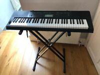 Keyboard / Piano - Casio CTK 3200 Electronic 61 key touch response keyboard