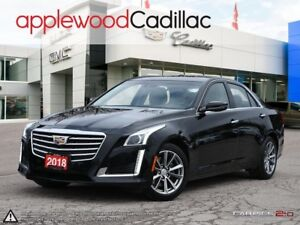 2018 Cadillac CTS 3.6L Luxury 3.6, AWD, NAVIGATION, PANORAMIC...