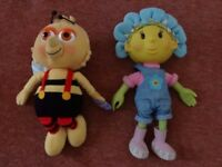 FIFI (SOFT TALKING DOLL) & BUMBLE (SOFT PLUSH TOY)