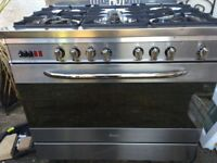 Baumatic 90 cm duel fuel cooker