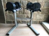 Body Power Stand and Adjustable weights 2-20