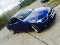 BMW 320D M SPORT COUPE in stunning Le Mans Blue, FSH, Showroom Condition