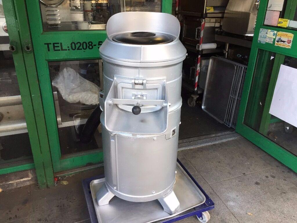CATERING COMMERCIAL POTATO PEELER MACHINE FOOD FRESH CHIPS RESTAURANT CAFE BAR TAKE AWAY BBQ KEBAB