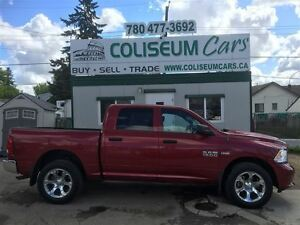 2015 Dodge Ram 1500 ST, 4X4, LEATHER, 73KM