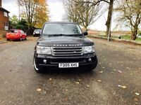 Range Rover sport hse 2.7tdv diesel rop off the range comes with 6 months warranty Hpi is clear