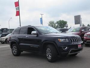 2015 Jeep Grand Cherokee Limited! 4x4! Touch Screen! London Ontario image 3