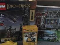 Various LEGO sets brand new and factory sealed