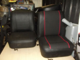 CLASSIC MINI SEAT SETS REFURBISHED FROM £450 Door cards from £48
