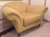 Lovely armchair, for lounge/dining area or large bedroom. Works well in a bay.