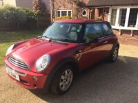 Mini one 7 special edition 2006 , 66500 miles , one owner .