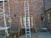 double ladder 6.5m working