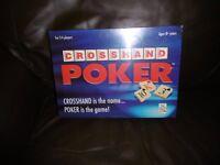 CROSSHAND POKER GAME - NEW