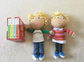 Charlie and Lola book and toy set