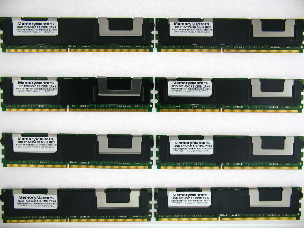 16GB KIT 4X4GB IBM BladeCenter HS21 1885 1915 8853 46C7419 40V6418 RAM MEMORY