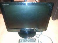 Samsung 19'' LCD TV Spares Or Repair