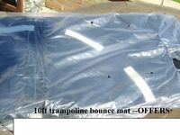 10ft round trampoline bounce mat (the bit you jump on)