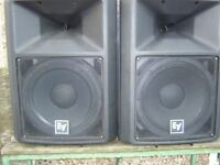 EV SX300 speakers
