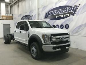 2018 Ford Super Duty F-550 DRW CrewCab XLT Chassis 6.7L