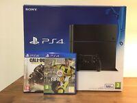 PS4 - PlayStation 4, 500gb, Fifa17 & COD Advanced Warfare