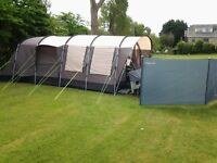 Family tent and trailer