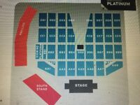 2 x Tickets for Elton John, Hove on 9th June