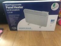 New panel heater