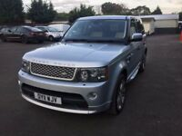 FINANCE AVAILABLE...2011 Land Rover Range Rover Autobiography Sport Silver