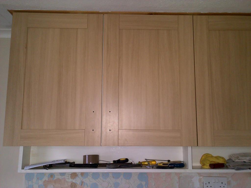 Kitchen Unit Doors 17 Shaker Light Beech 500mm 3