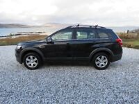 Chevrolet Captiva. Seven seat 4x4 with FDSH and years MOT.