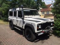 Land Rover Defender 300 TDi 110, 11 Seats, MoT till October, Very Reliable.