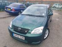 TOYOTA COROLLA 1.8ltr_3dr VVTL T-SPORT *** LONG MIT - HPI CLEAR- FREE DELIVERY ***
