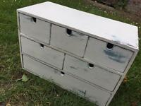 Shabby chic set of draws