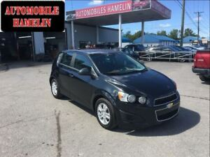 2013 Chevrolet Sonic LT automatique ecran radio bluethooth mags