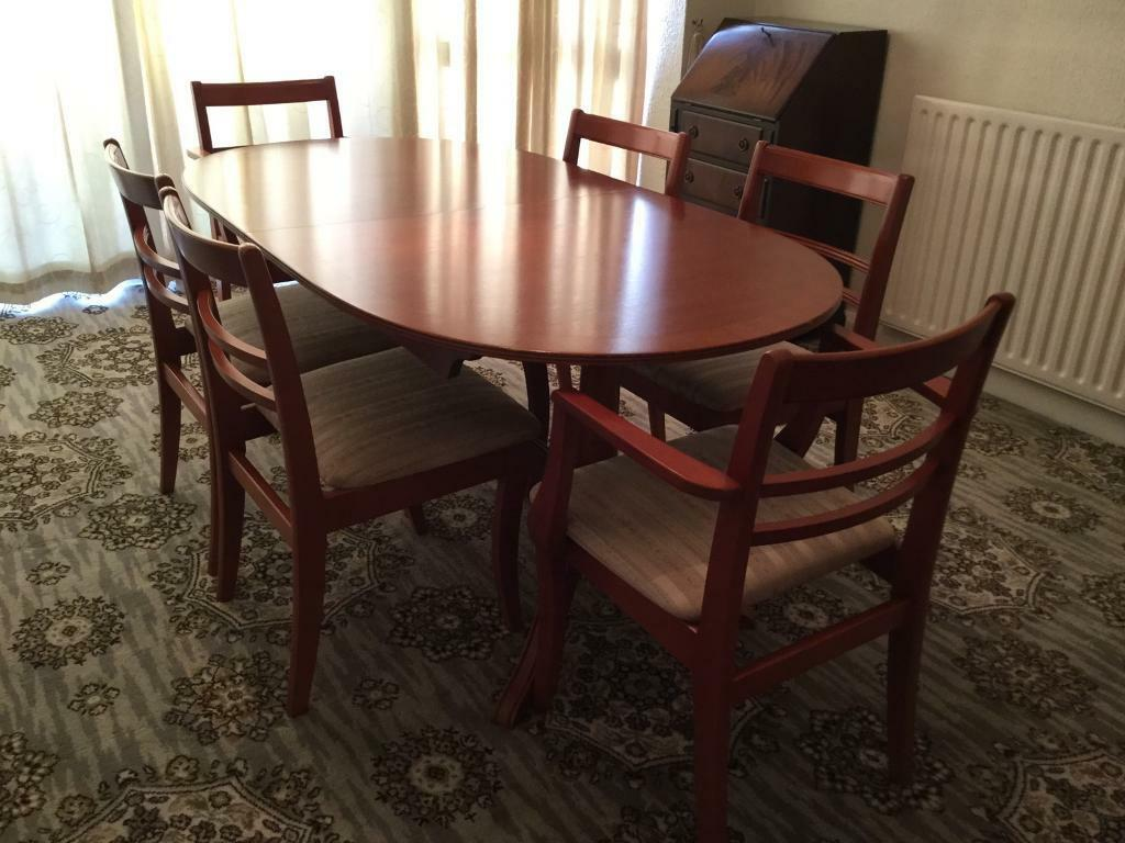 Dining Room Table And 6 Chairs Gomersal West Yorkshire