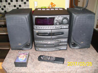 JVC Compact Music System