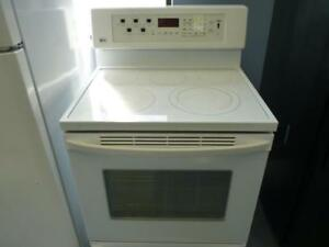 138- Cuisinière Blanche WHIRLPOOL White Stove - Oven Four