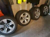 Bmw 5 series alloys run flats