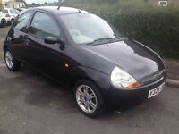 FORD KA LUXURY 1300 FULL LEATHER TRIM ONLY 76000 MILES, SPARES OR REPAIR