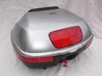 Honda Deauville 700 Silver Top Box