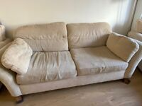 FREE SOFA WITH 2 CHAIRS AND FOOTSTOOL