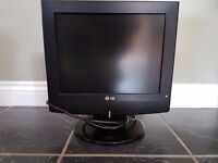 """LG LCD TV. 15"""" with Remote Control"""